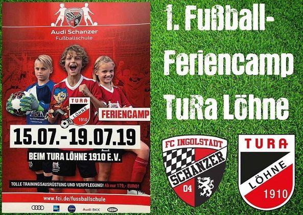 1. Fußball-Feriencamp bei TuRa