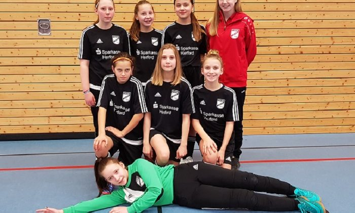 D-Juniorinnen belegen 3. Platz bei Hallenkreismeisterschaften