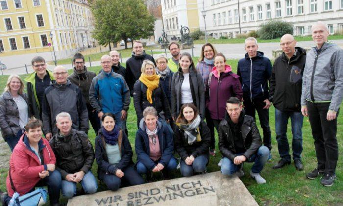Erfolgreiche Teilnahme am Magdeburg Marathon