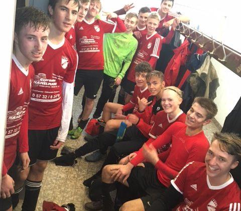 5:0 Derbysieger gegen SVLO