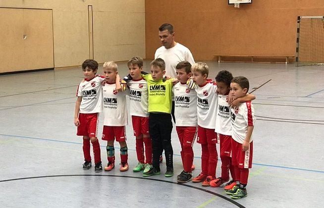 F2-Turnier in der Halle Brunnenstraße