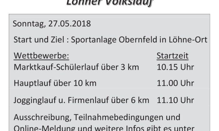 Unterstützung beim Spatzenberg-Lauf
