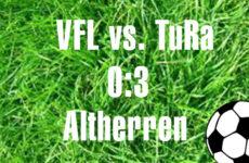 VFL Mennighüffen gegen TuRa Löhne