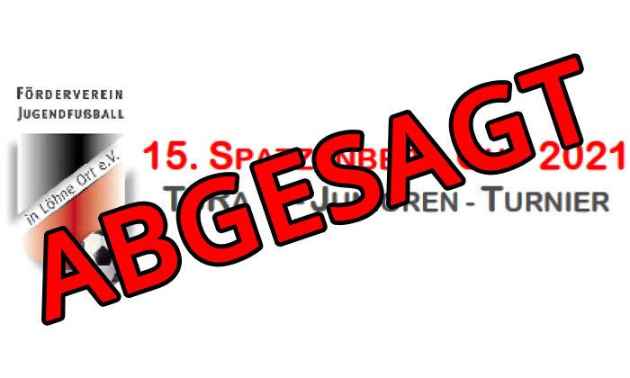 Absage Spatzenberg Cup