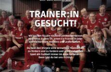Frauen Mannschaft sucht Trainer