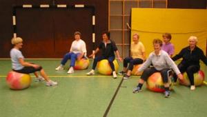 Unter Anleitung von Karin Kütemeier treffen wir uns Mittwochs von 18.30 Uhr bis 19.30 Uhr in der Turnhalle am Neuen Kamp.